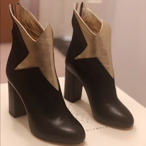 Charlotte Olympia Galactica Star 100mm Booties